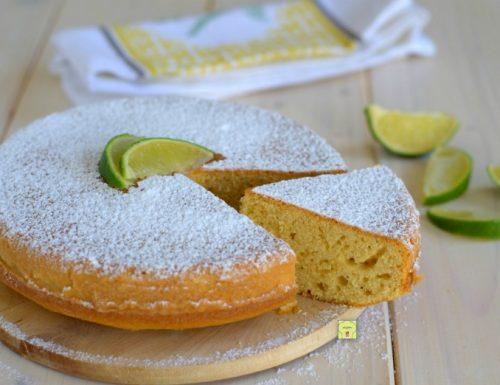 Torta soffice al lime