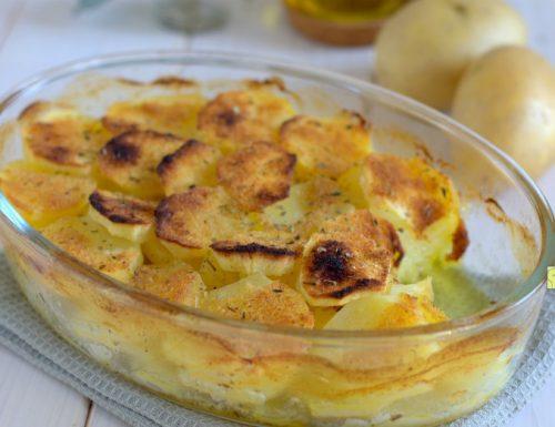 Patate alla mozzarella