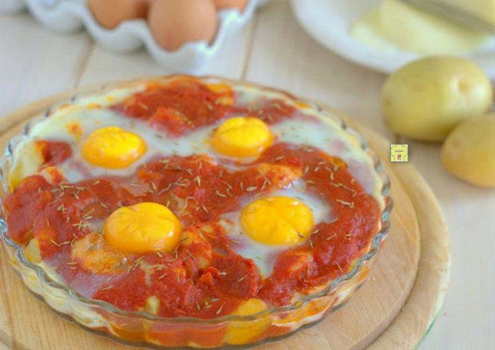 uova e patate al forno