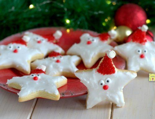 Biscotti stella di natale