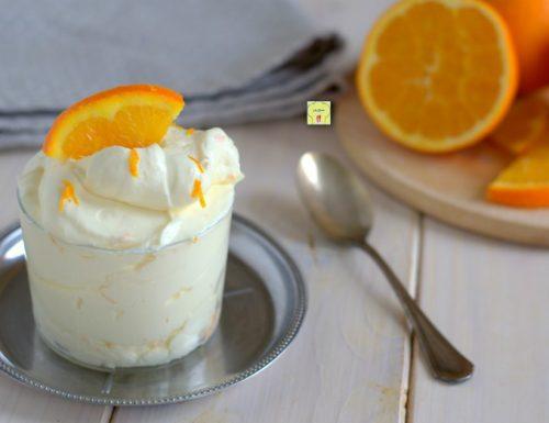 Crema di mascarpone all arancia