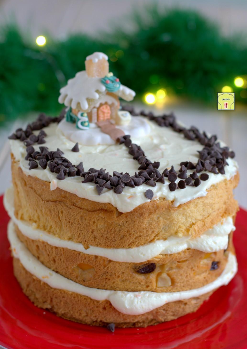 torta panettone all'arancia gp
