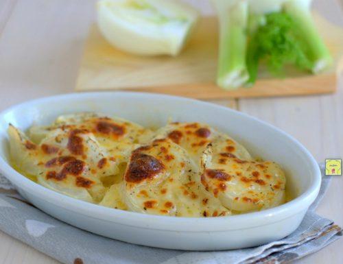 Finocchi al formaggio