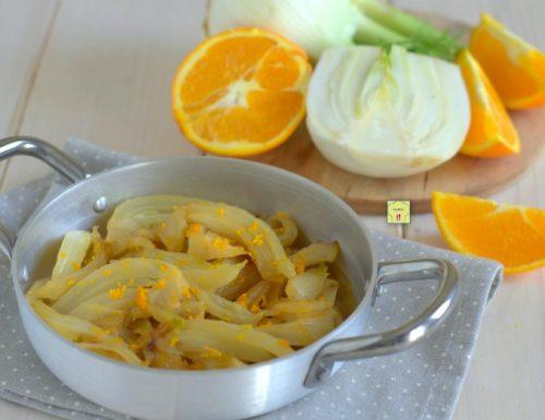 Finocchi caramellati all arancia