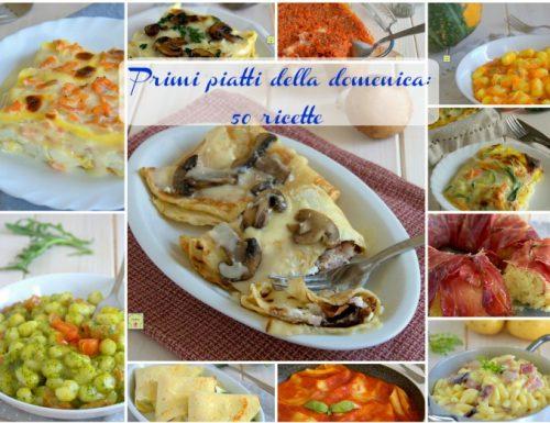 Primi piatti della domenica