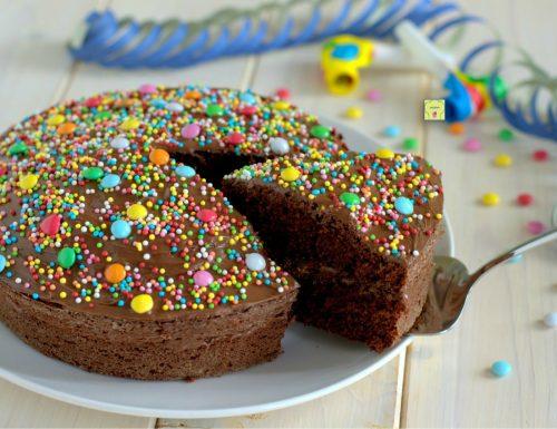 Torta di Carnevale cioccolato e nutella