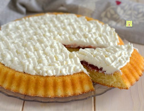 Crostata morbida marmellata e crema paradiso