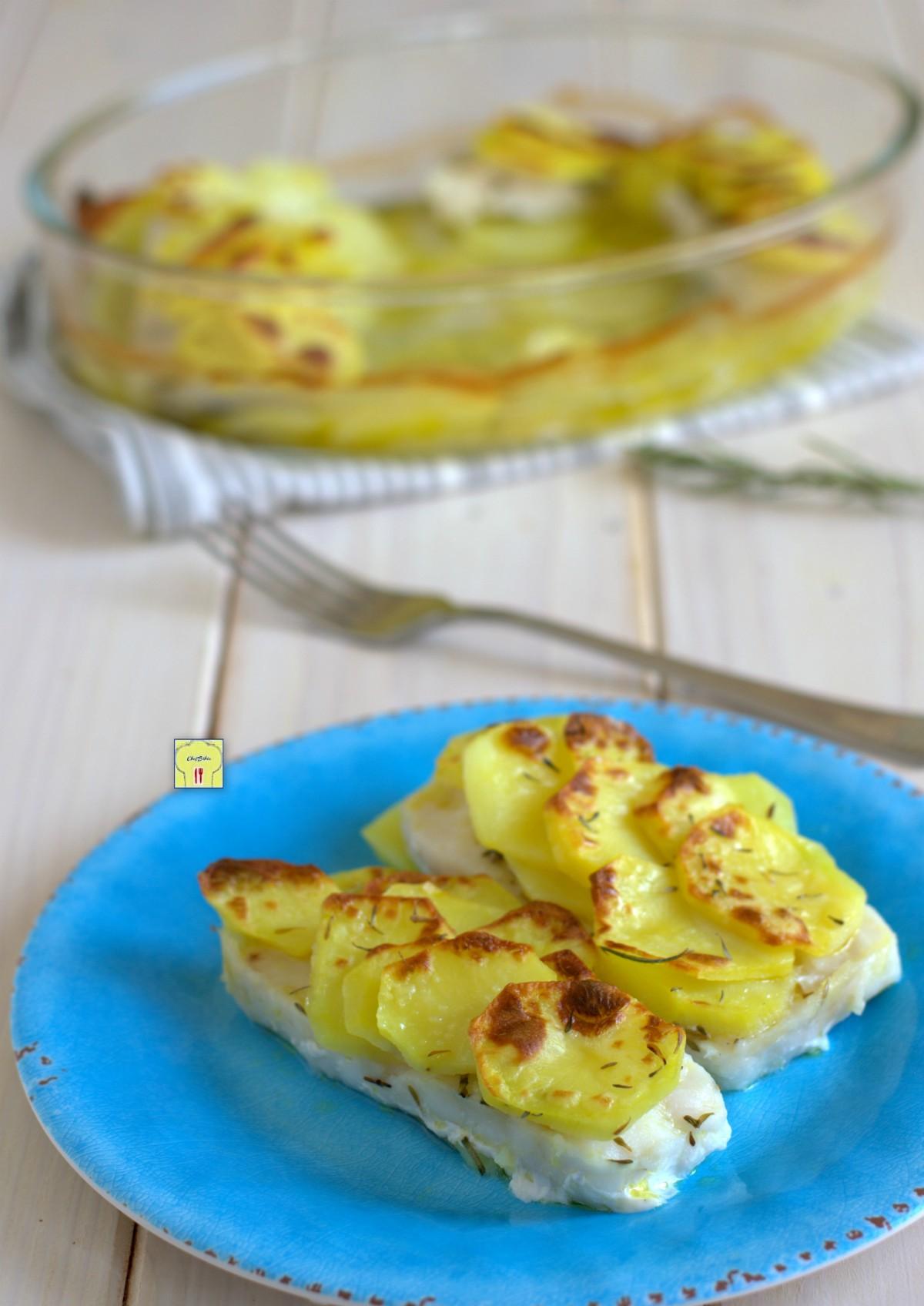 merluzzo con le patate al forno gp
