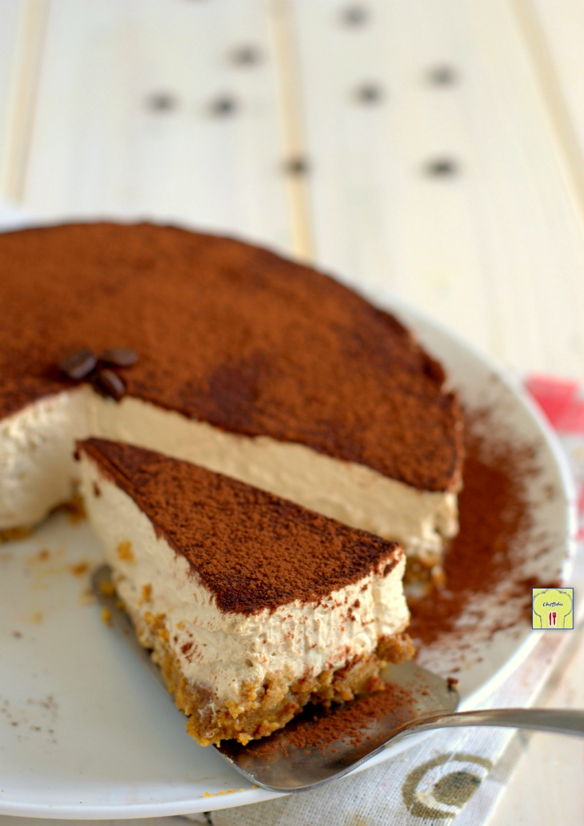 cheesecake al caffè gp