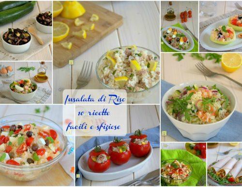 Insalata di riso 10 ricette