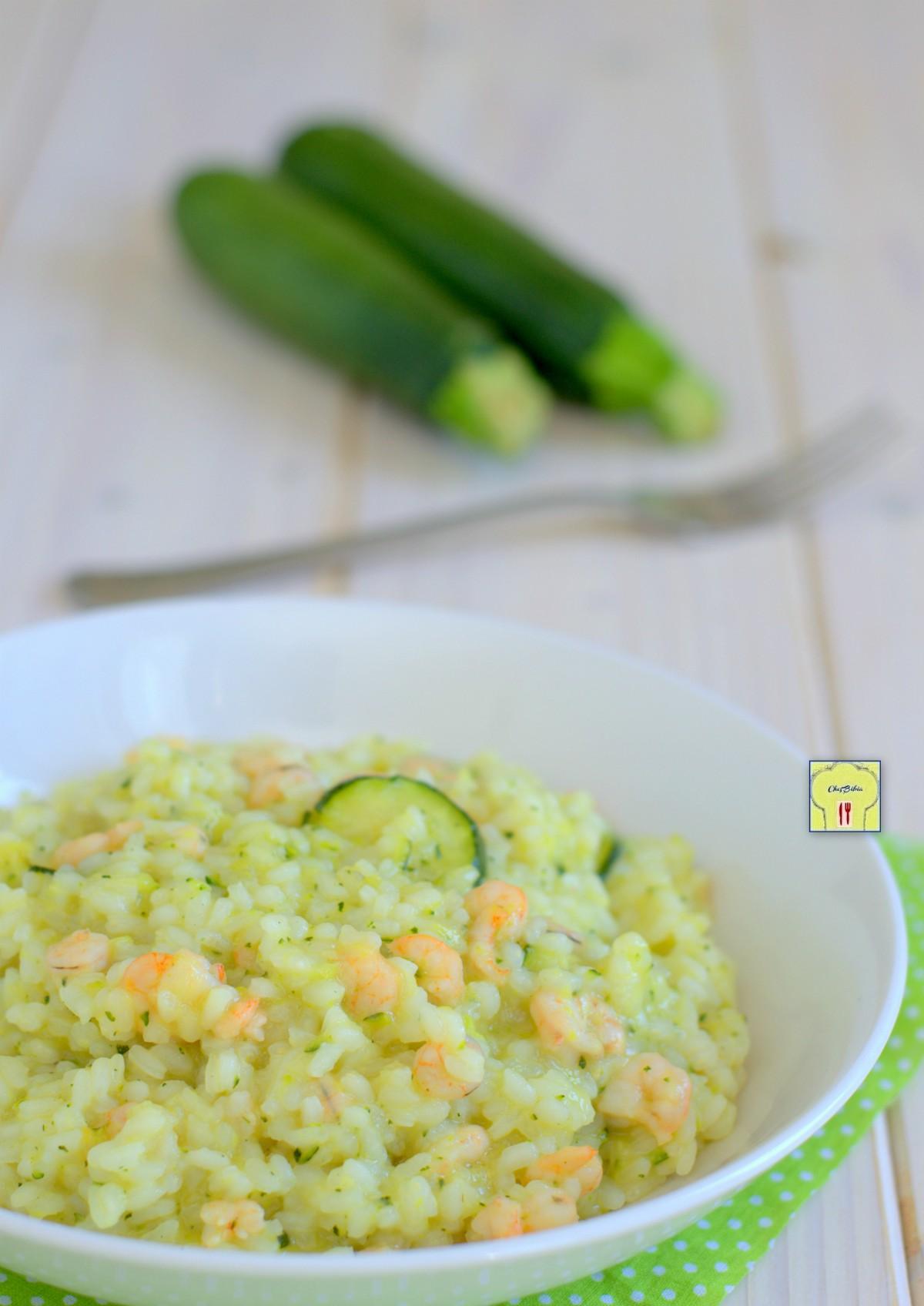 risotto zucchine e gamberetti gp