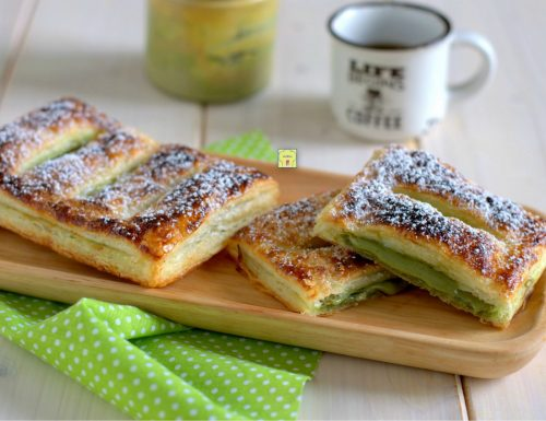 Sfogliatine al pistacchio