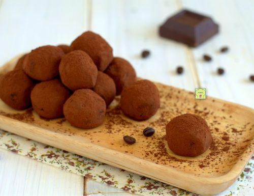 Tartufi cioccolato e caffè