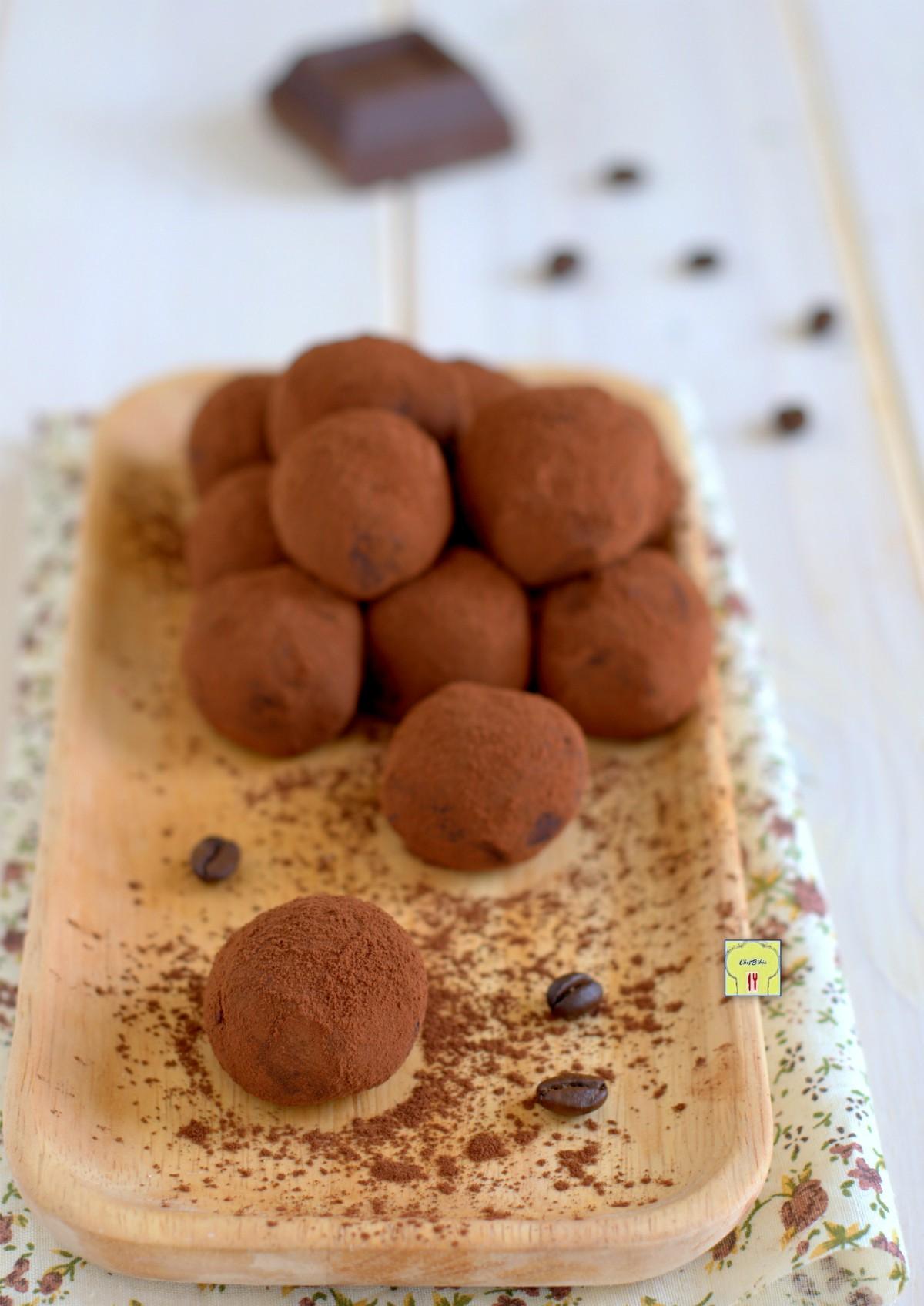 tartufi cioccolato e caffè gp