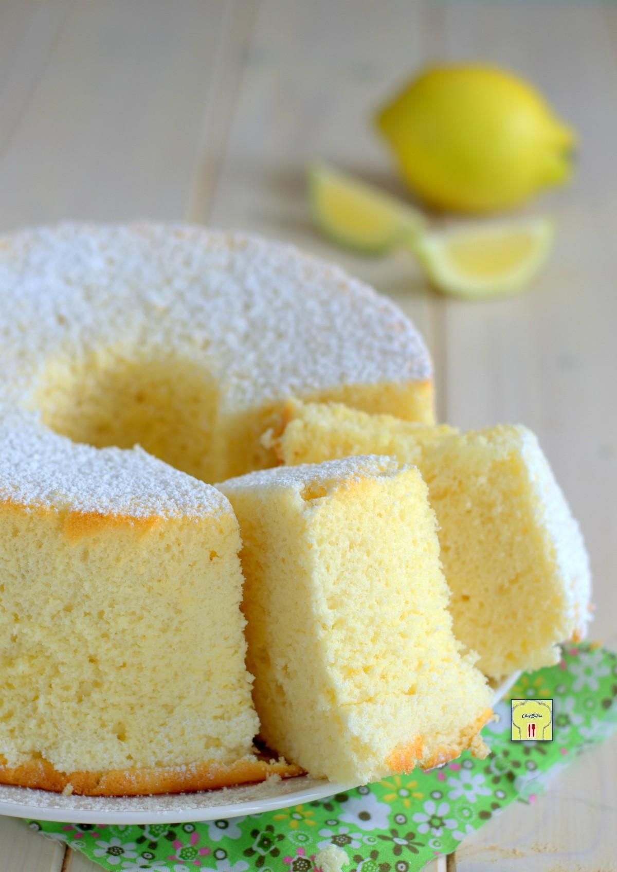 chiffon cake al limone gp