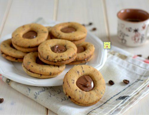 Occhi di bue caffè e nutella