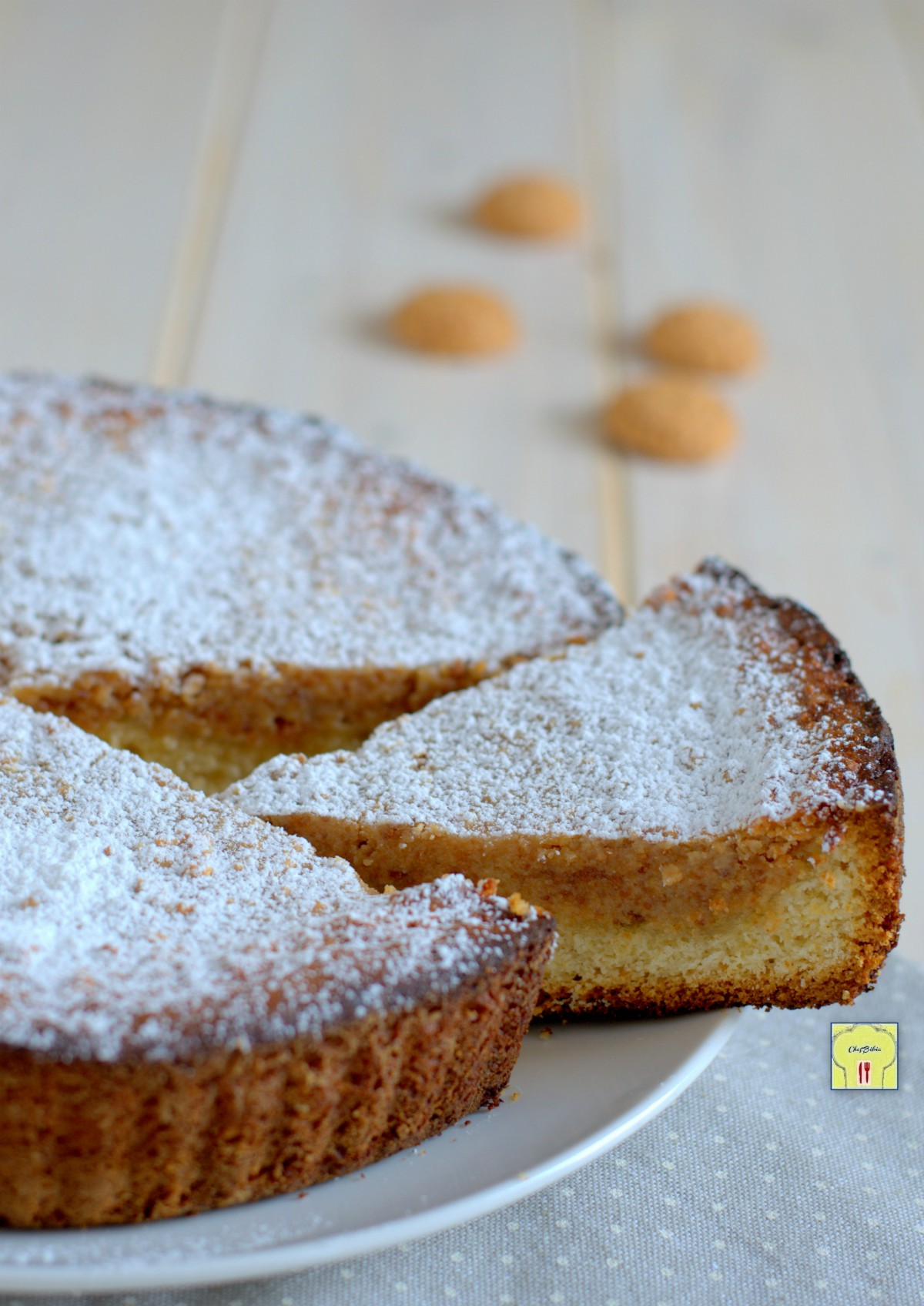 torta amaretti e ricotta gp