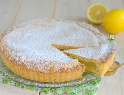 Torta di frolla morbida al limone