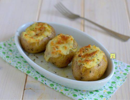 Patate farcite al gorgonzola