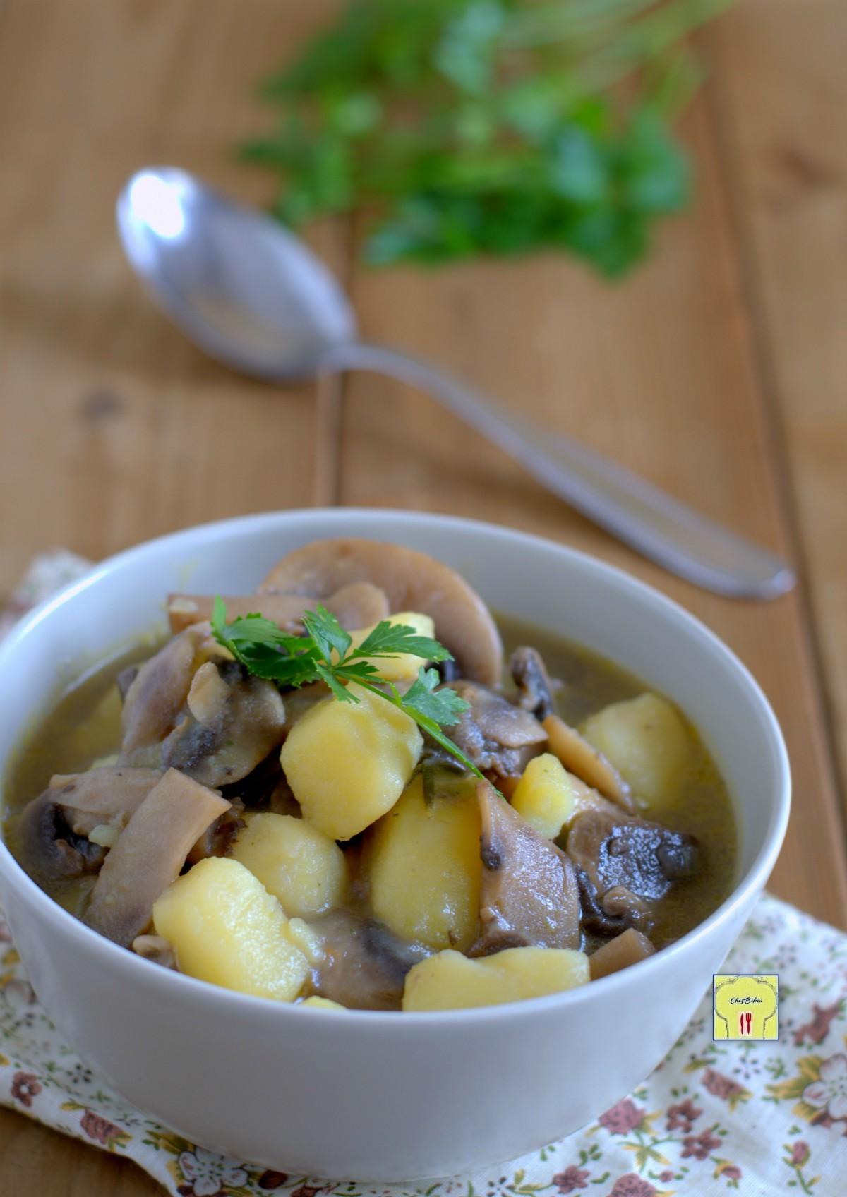 zuppa di funghi e patate gp