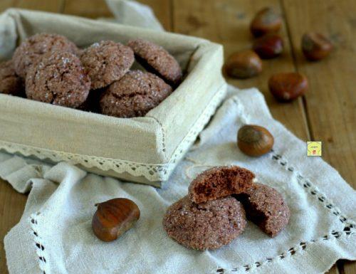 Biscotti morbidi alle castagne