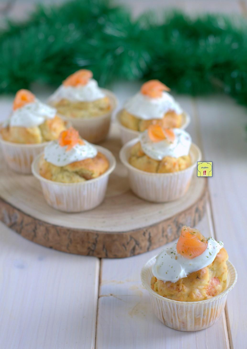 muffin al salmone affumicato gp