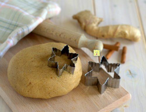 Pasta frolla allo zenzero
