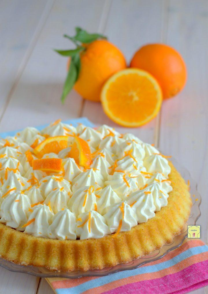 crostata morbida paradiso all'arancia gp