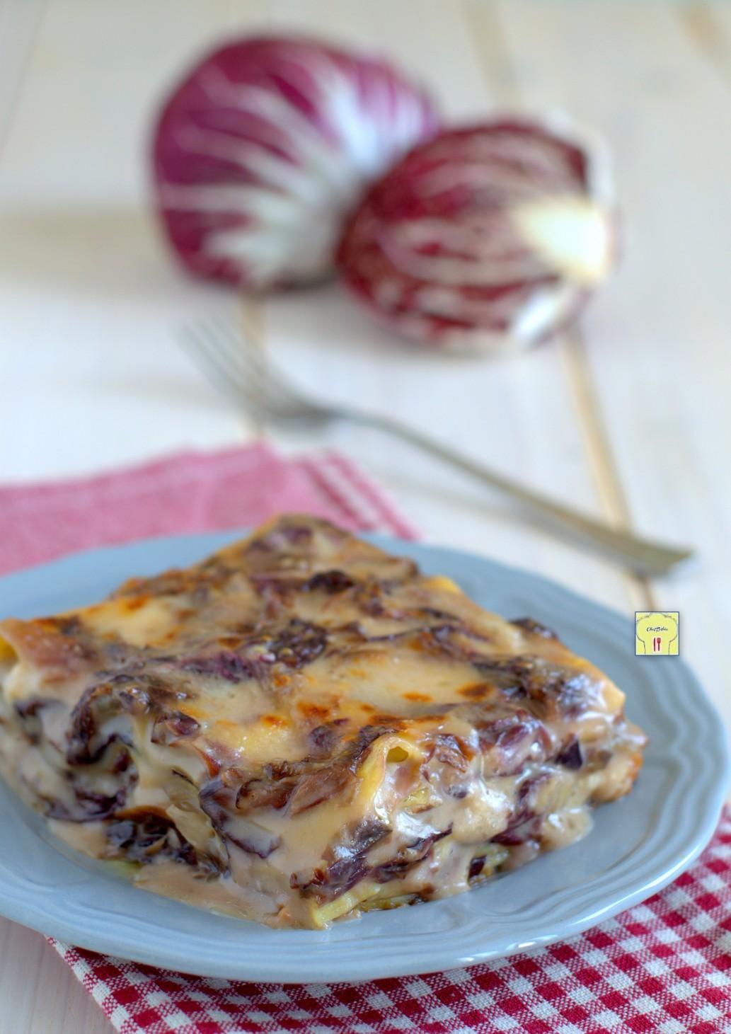 lasagne radicchio e formaggio gp