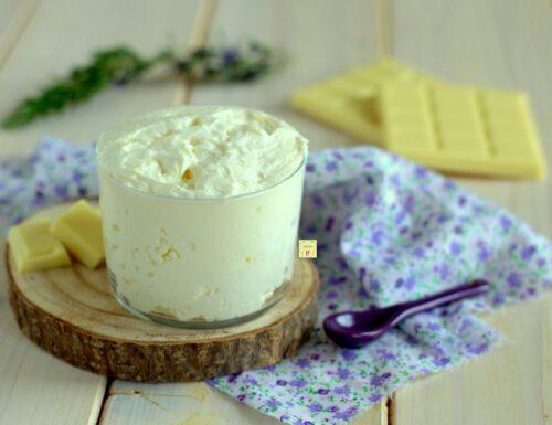Crema paradiso al cioccolato bianco
