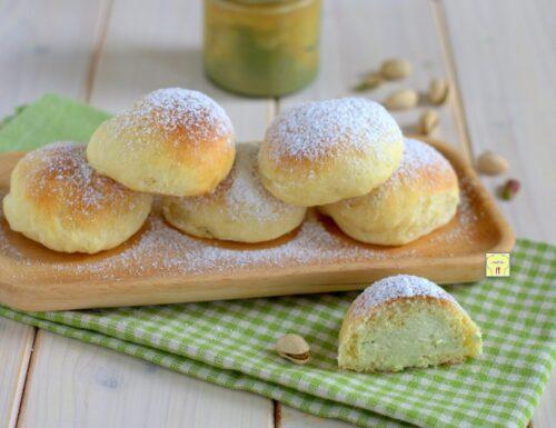 Fiocchi di neve al pistacchio