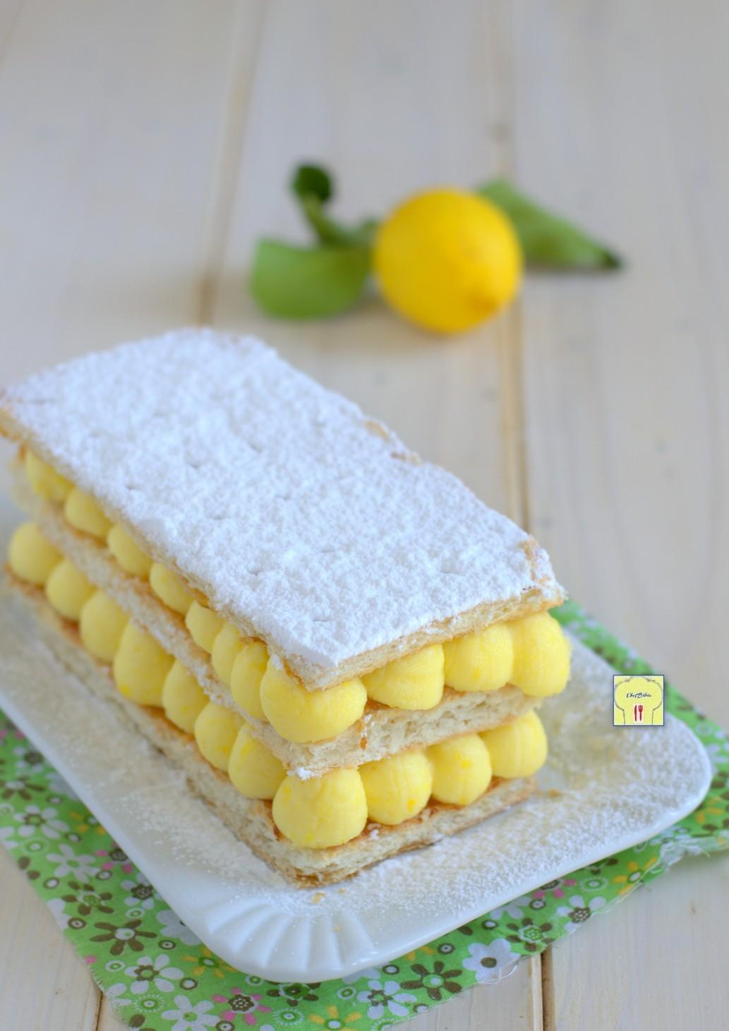 millefoglie al limone gp