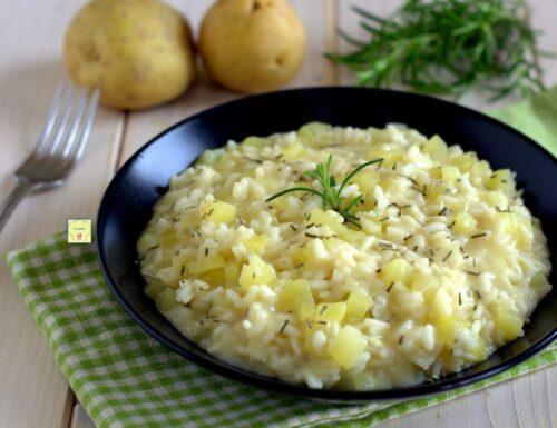Risotto alle patate e rosmarino