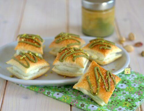 Sfogliatine paradiso al pistacchio