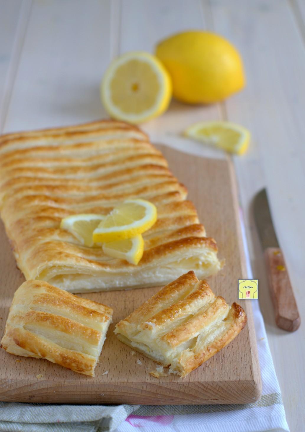 strudel di sfoglia ricotta e limone gp