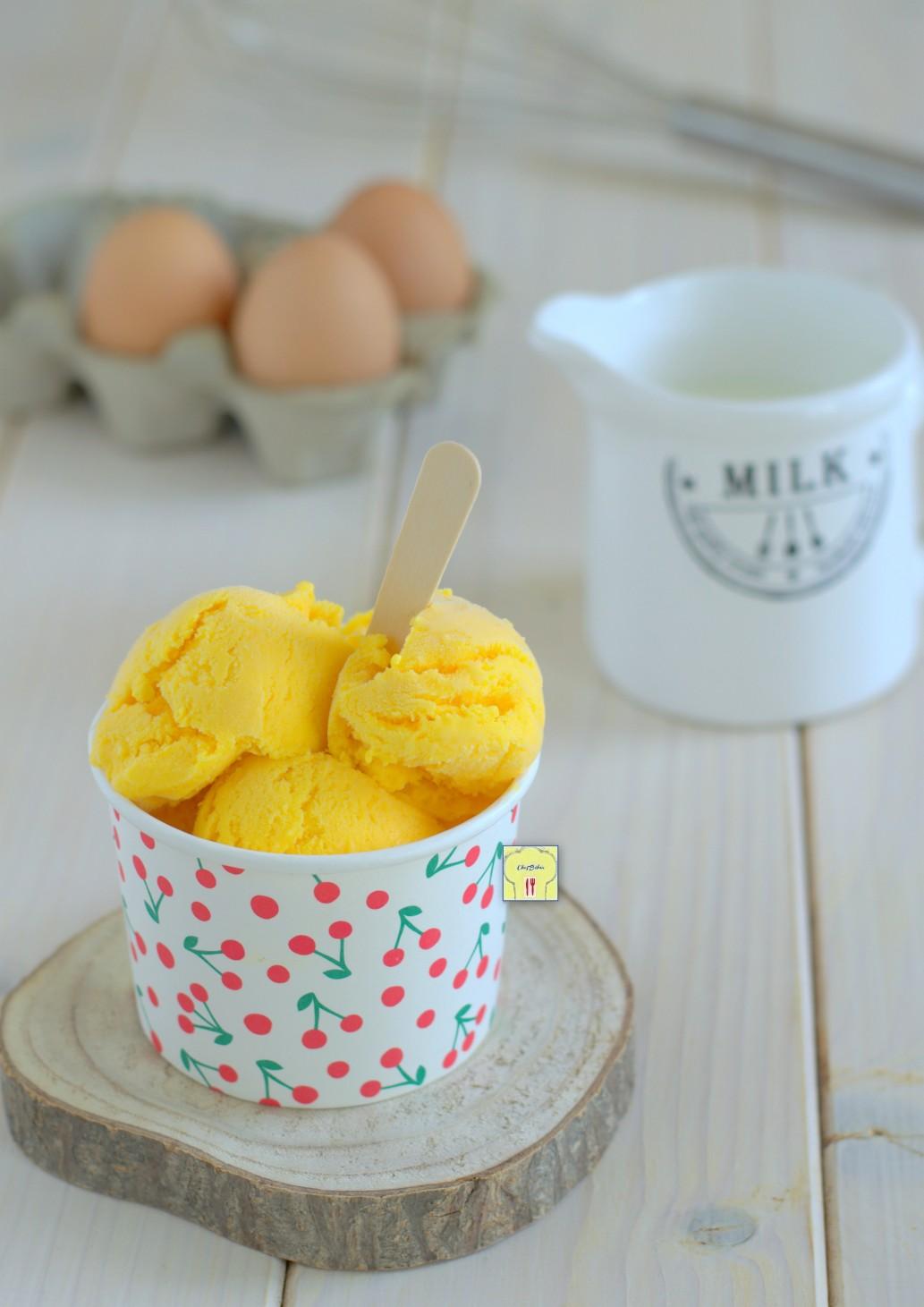 gelato alla crema senza gelatiera gp