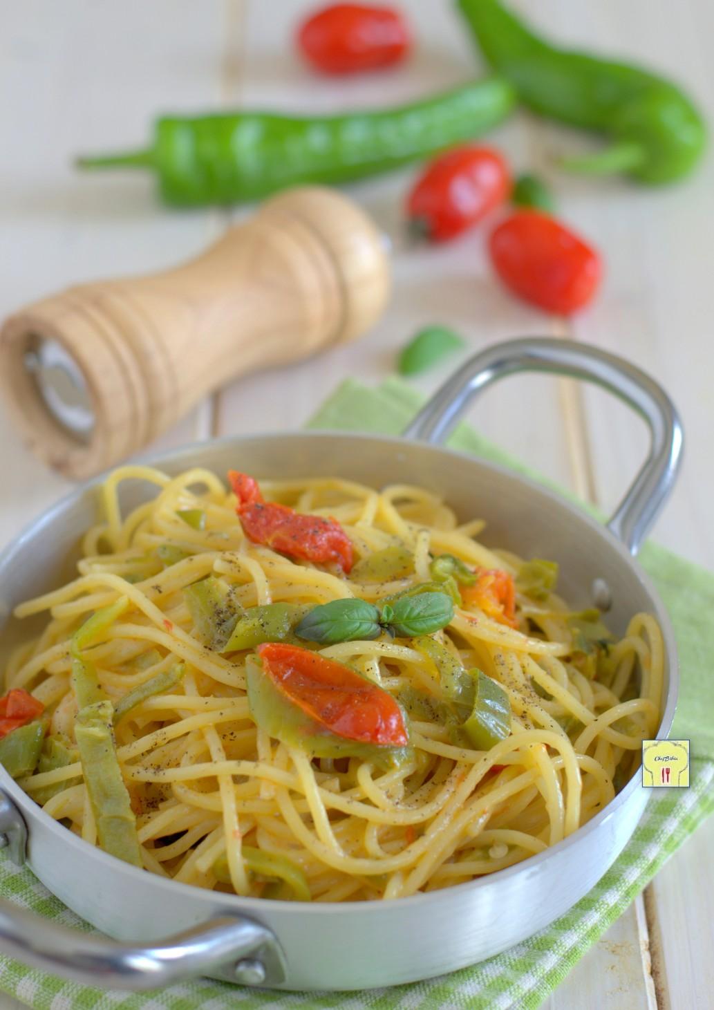 spaghetti ai peperoncini dolci gp
