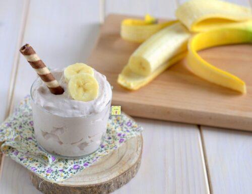 Mousse alla banana