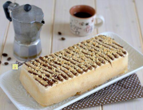 Torta gelato furba al caffè