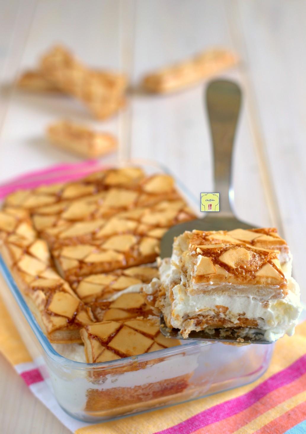 torta Paradiso di sfogliatine glassate gp