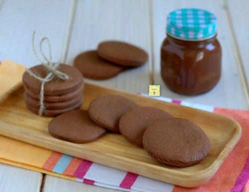 Biscotti alla nutella semplici
