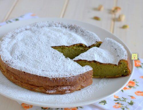 Torta soufflé al pistacchio