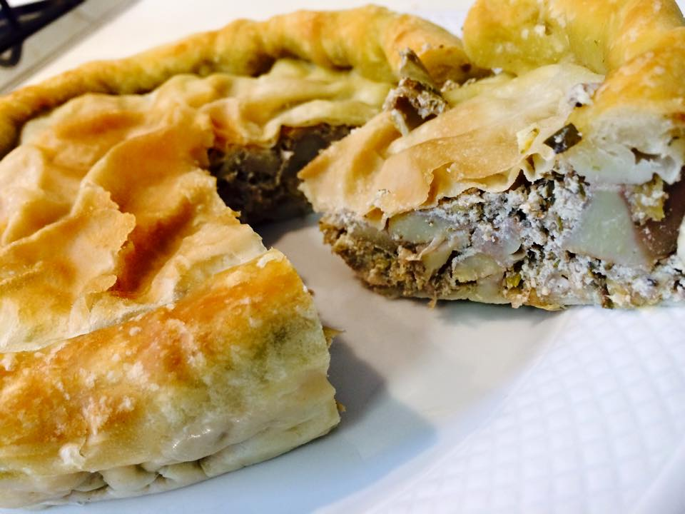 Veg Torta Pasqualina Ai Carciofi Chezbomber