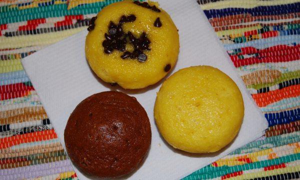 Muffin leggeri (ricetta senza burro)