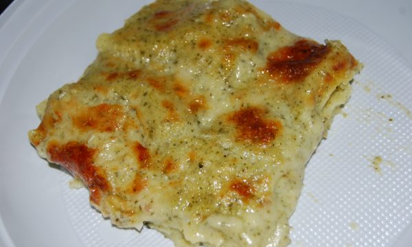 Lasagne al pesto (ricetta vegetariana)
