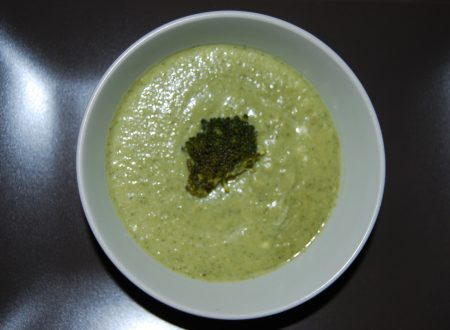 Vellutata di broccoletti e porro