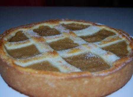 Crostata con crema di mele