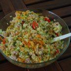 Insalata di riso, ricetta light