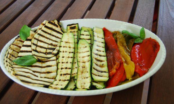 Tris di verdure grigliate, ricetta light
