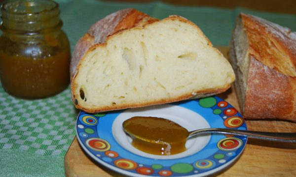 Marmellata di prugne Regina Claudia con zenzero